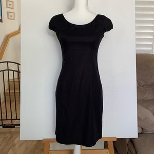 NWT Black Casual Fitted Cotton Dress.